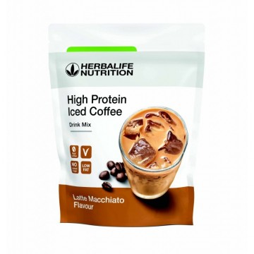 High Protein Iced Coffee Mocha Flavour Drink Mix 322 g